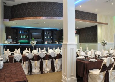 Banquet Hall 1 with a bar